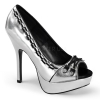 PIXIE-18 Silver Vegan Leather